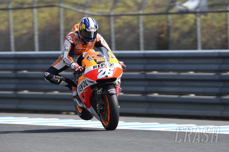 Pedrosa: I think we set a 'stoppie' record!