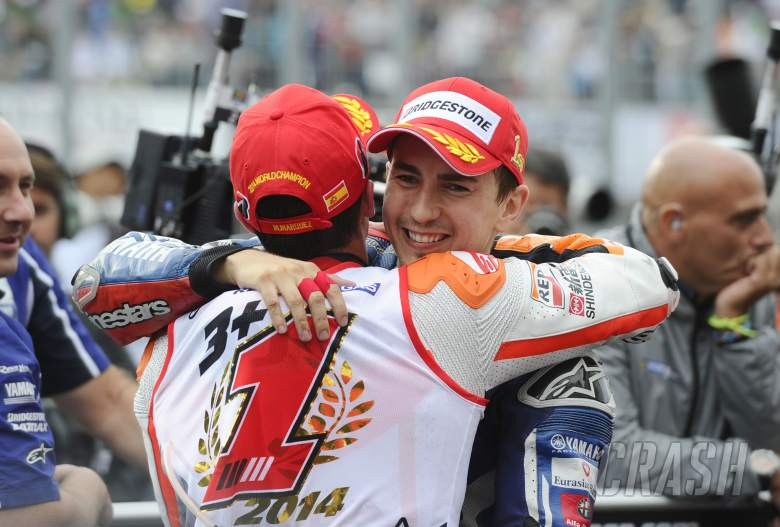 Lorenzo: Marquez talented, brave, takes lot of risks