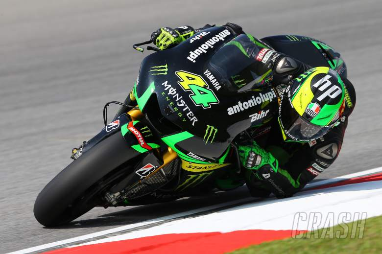 Espargaro fighting to race after foot fracture