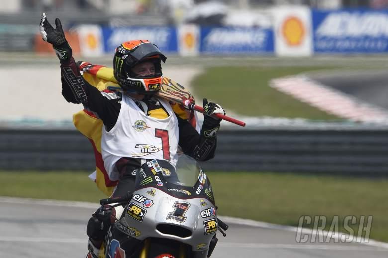 Rabat dedicates Moto2 title to mum