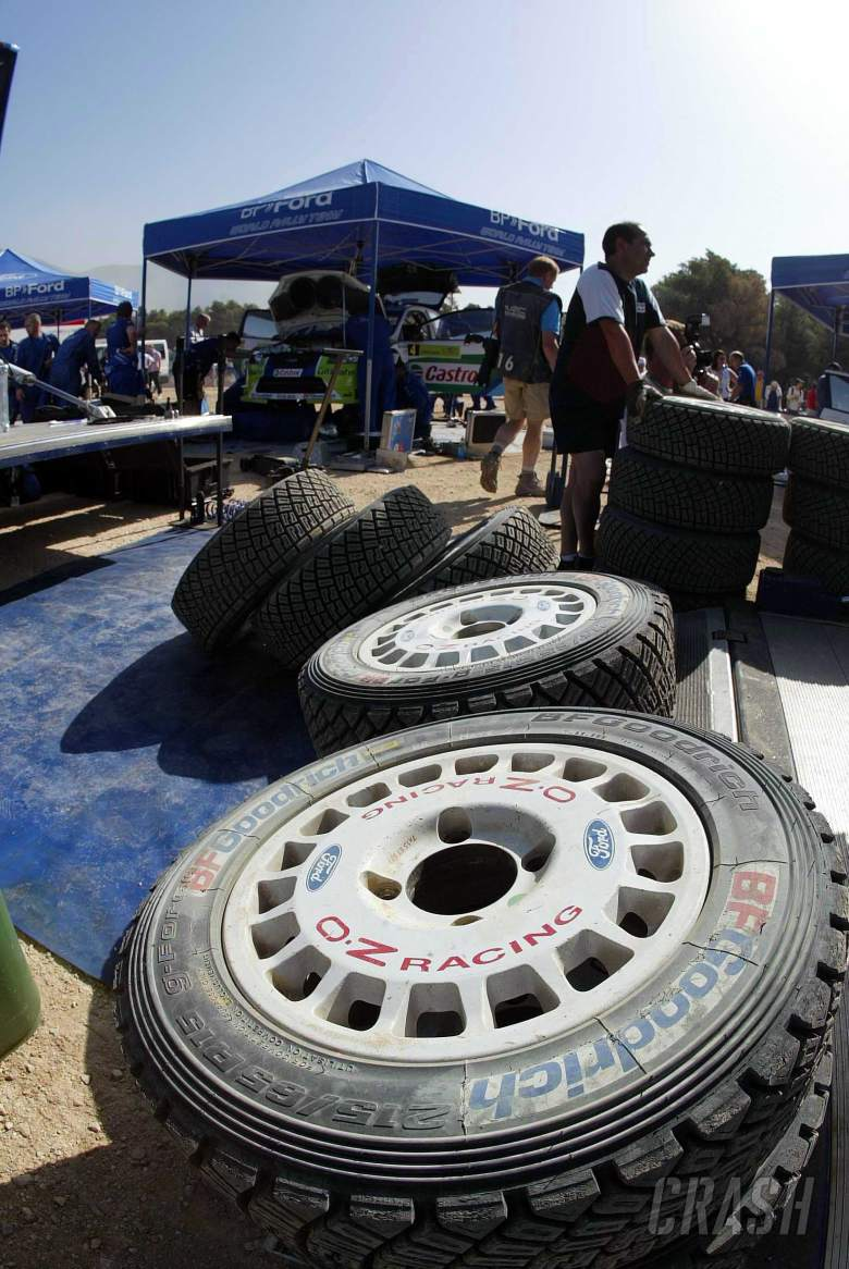 BF Goodrich tyres at the Acropolis Rally