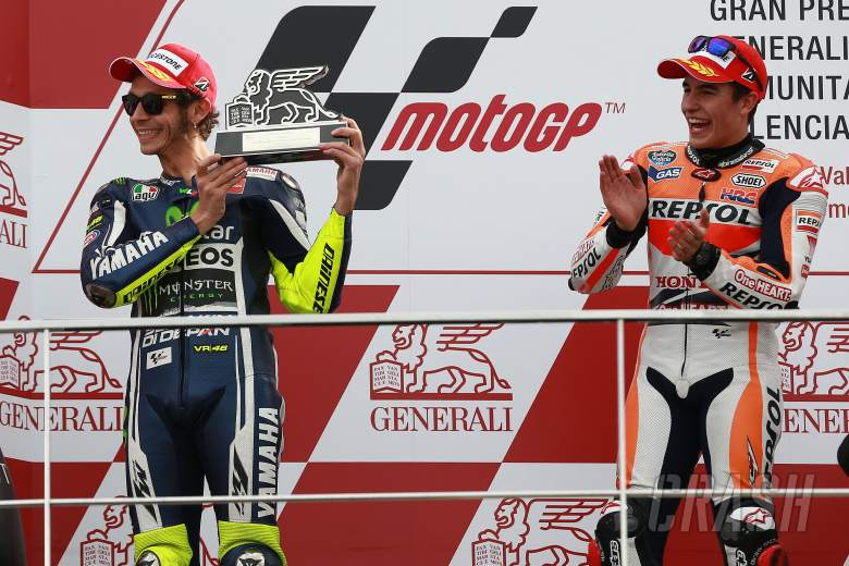 Rossi: My bad luck is called 'Marc Marquez'!