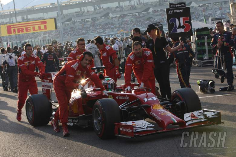 Alonso's Ferrari farewell 'emotional'