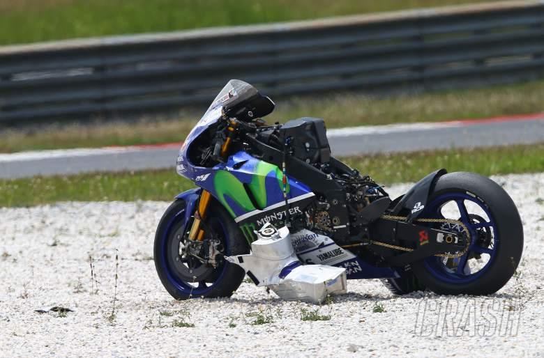 Incidents mar Michelin MotoGP test