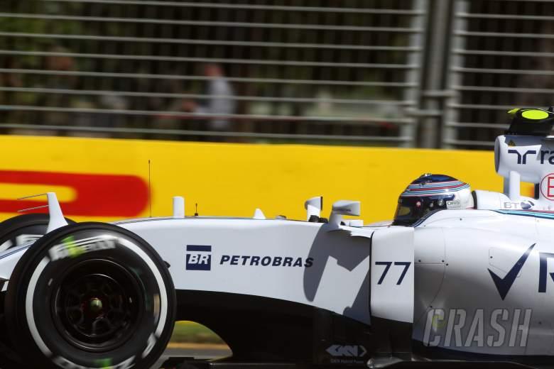 Bottas out of Australian Grand Prix