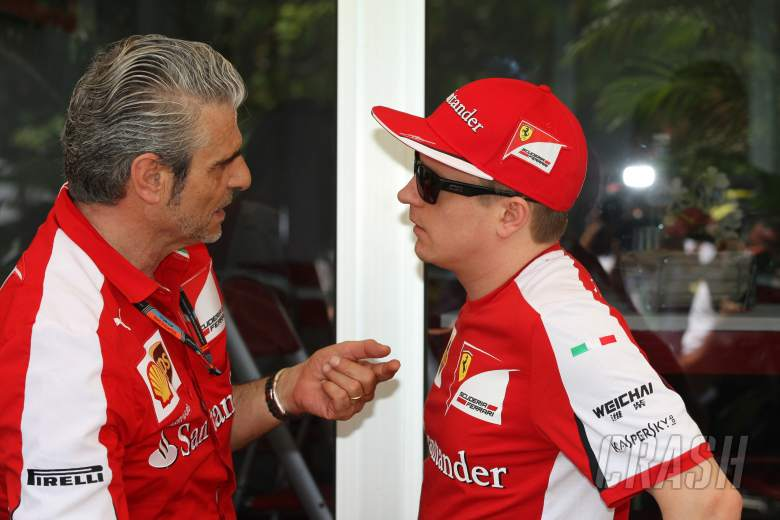 Arrivabene: 'The Iceman' is very sensitive...