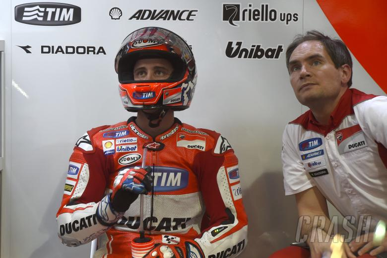Dovizioso fastest in dog-interrupted FP1