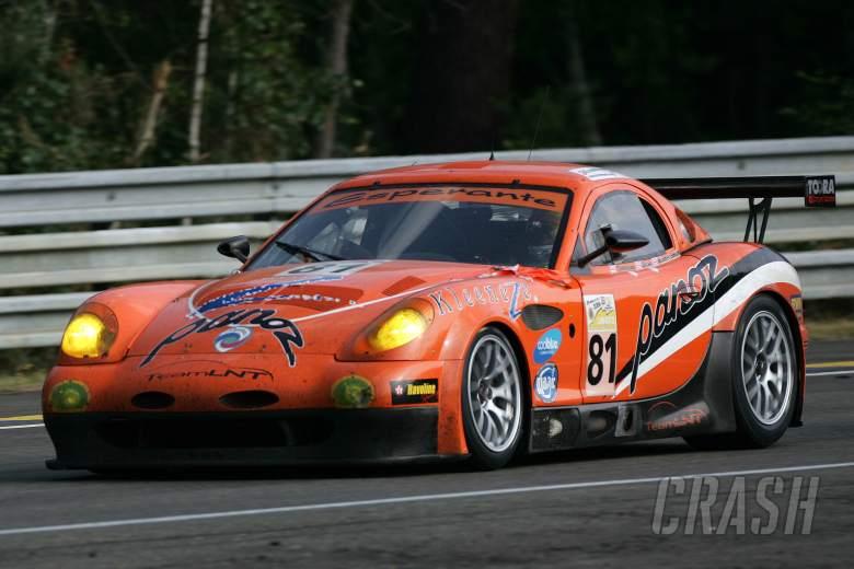 Lawrence Tomlinson (GBR), Richard Dean (GBR), Warren Hughes (GBR), Panoz Esperante GT LM.24 Heures d