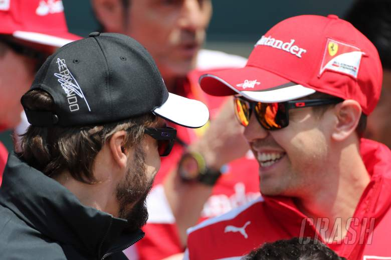 Alonso warns rivals to 'enjoy this moment'...