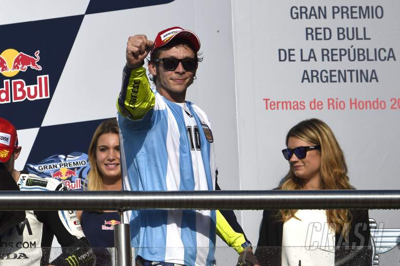 Rossi on brink of record 200th podium