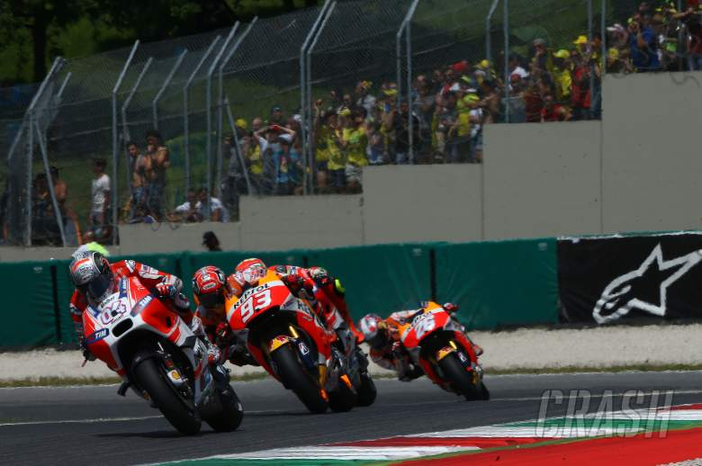 Broken sprocket ends disastrous Sunday for Dovizioso