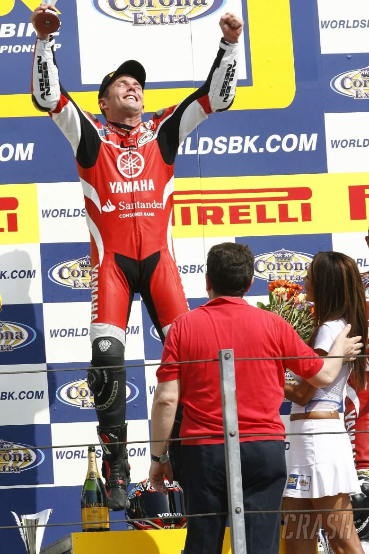 Pitt wins, Misano WSBK Race 2, 2006
