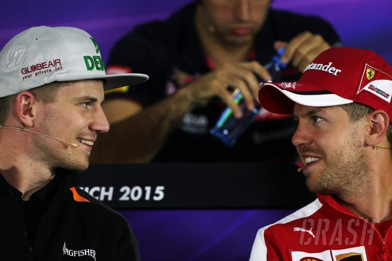 Hulkenberg joins Vettel for Team Germany in RoC