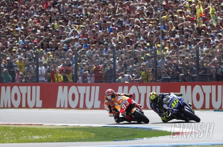 PICS: Rossi, Marquez final turn Assen showdown