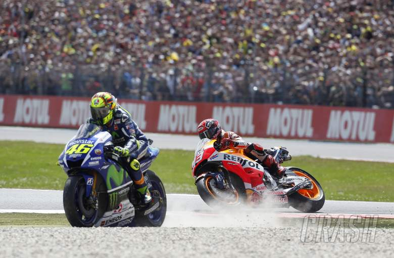 Rossi, Marquez: We'll still be friends