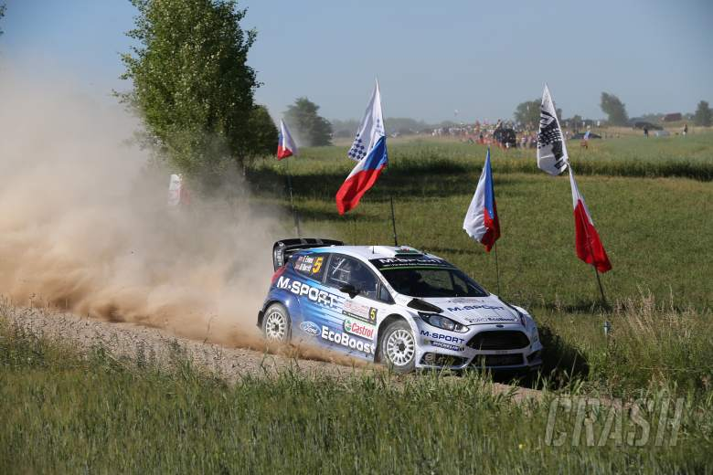 Evans retires from Rally Poland