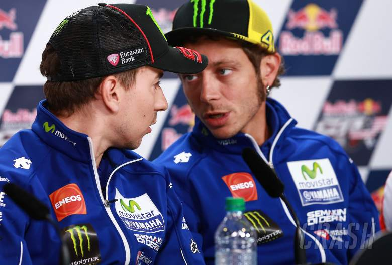 Rossi, Lorenzo to show caution at Michelin test