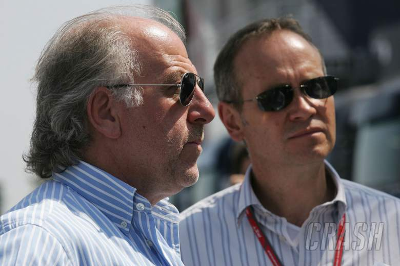 15.07.2006 Magny Cours, France, David Richards (GBR), Owner of Prodrive and David Lapworth (GBR) of