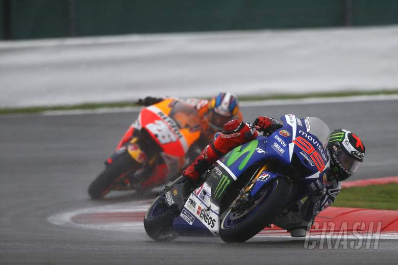 Lorenzo: I completely lost vision