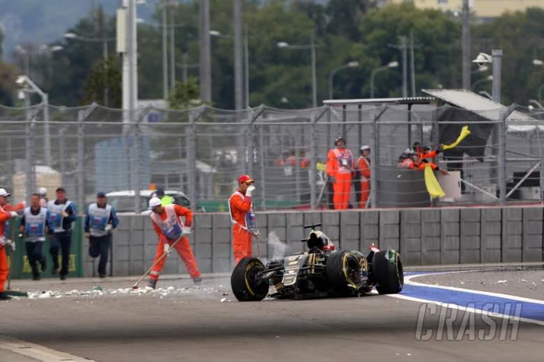 Lotus begins investigation into Grosjean crash