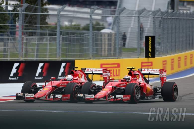 Vettel, Raikkonen revel in 'very, very close' tussle