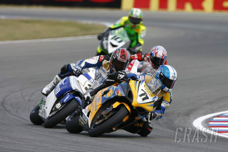 , , Kagayama, Muggeridge, Czech WSBK Race 2, 2006