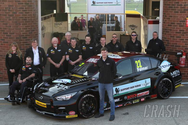 Support Our Paras Racing pulls out of BTCC
