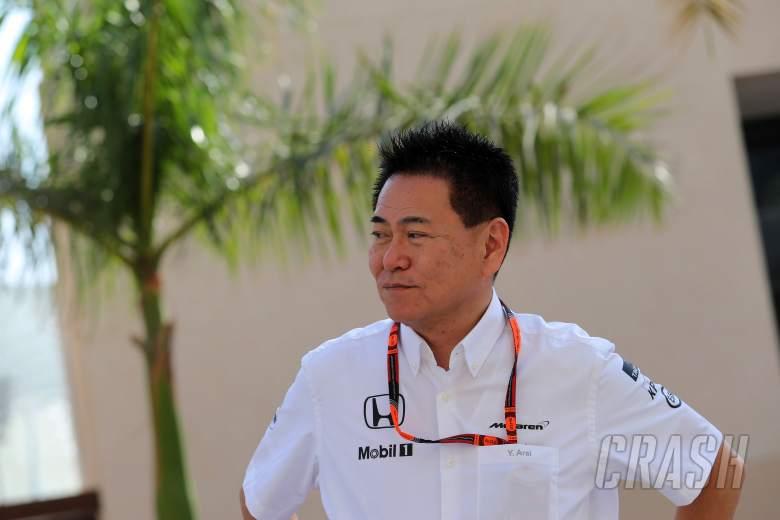 Arai steps down as Honda F1 chief