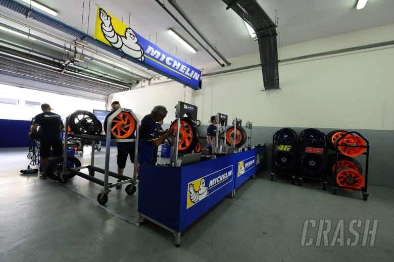 Michelin: Riders testing softer front, dual compound rear
