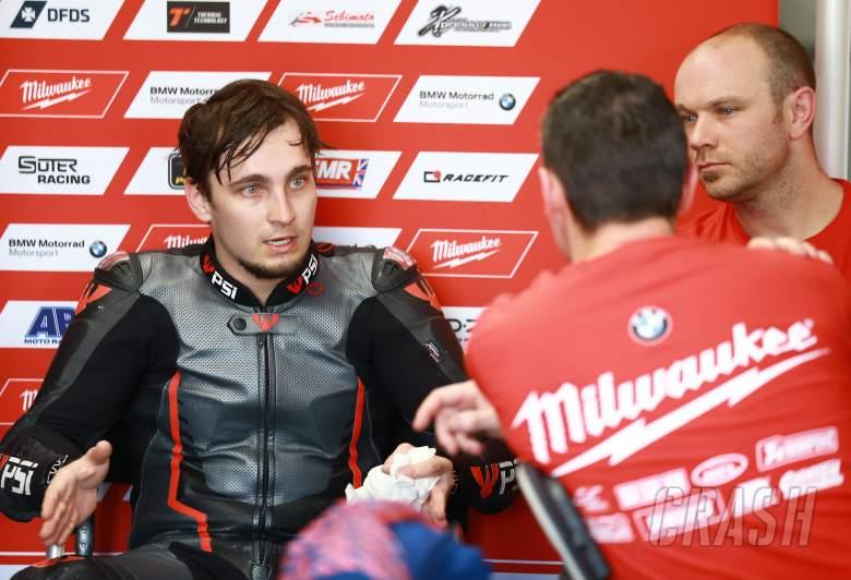 Huge high-side holds Abraham back ahead of Superbike debut