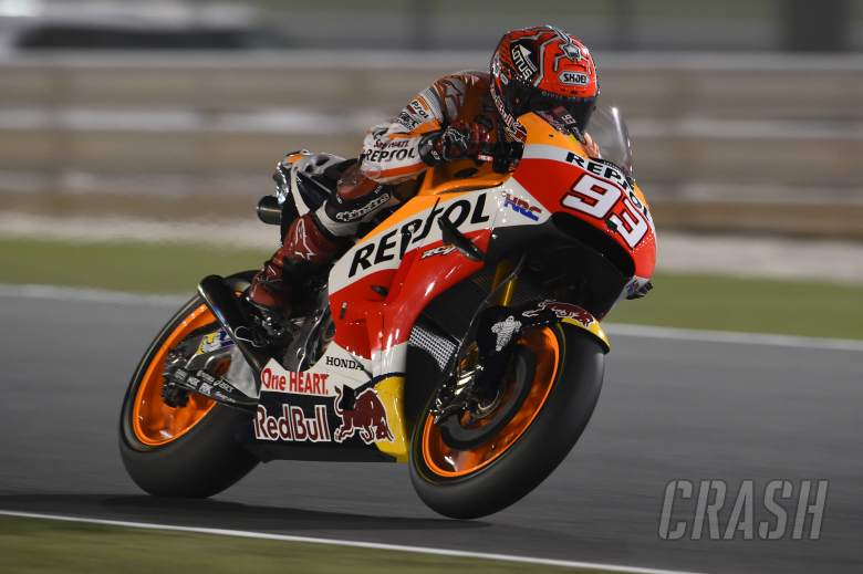 Backward step for Marquez