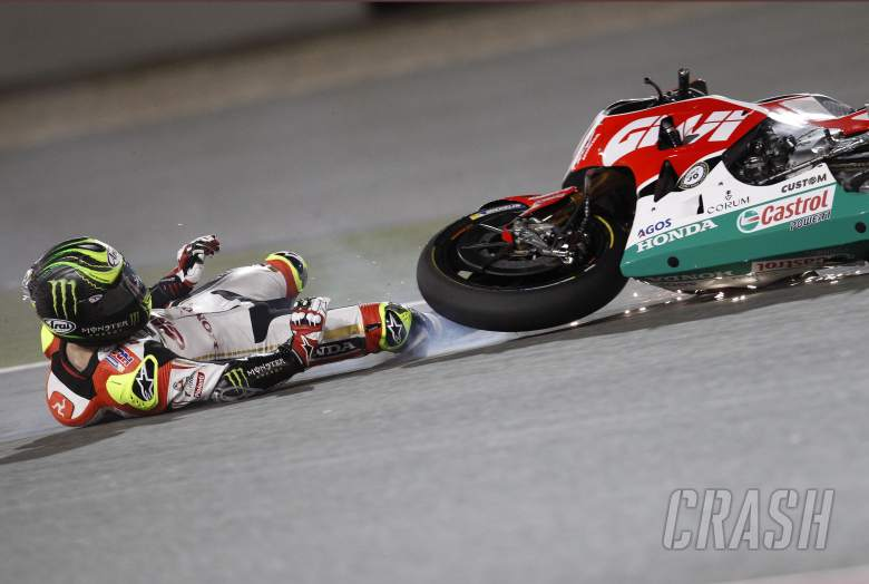 Crutchlow: Bike didn't know where it was
