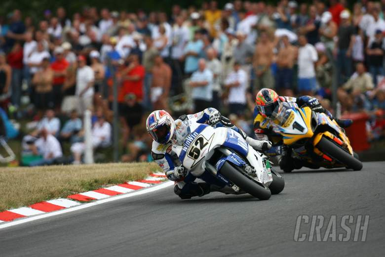 ,  - Toseland, Corser, Brands Hatch WSBK, race two,2006