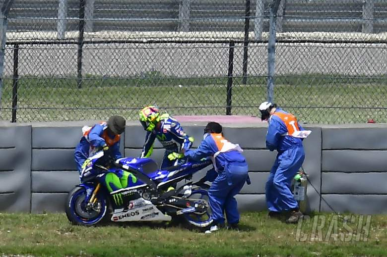 Rossi: You make a small mistake, you pay