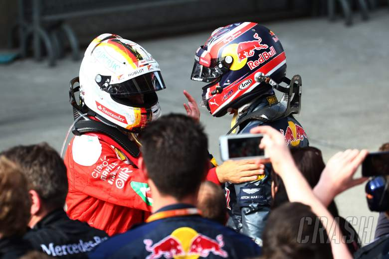 Kvyat remains firm on Vettel spat, won't change approach