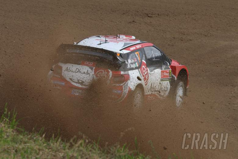 Meeke still top at end of day two in Portugal