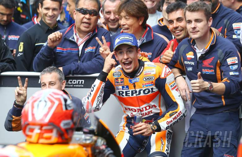 Marquez: We've learned from the past