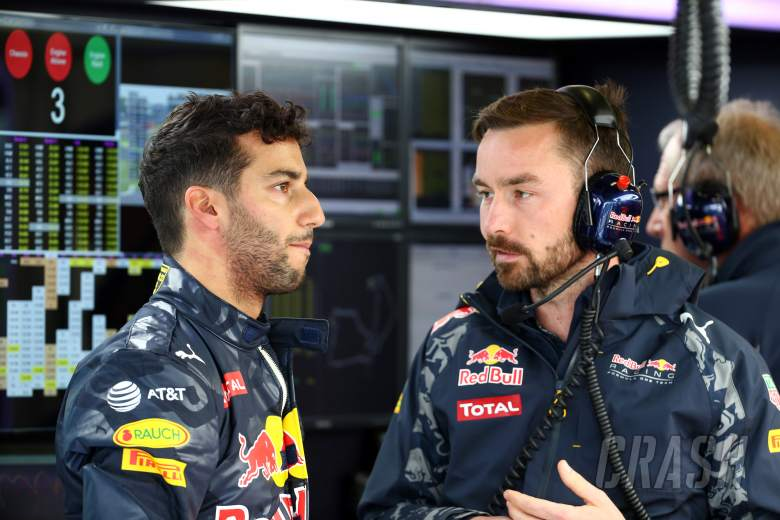 "Ricciardo ""a little pissed off"" to be beaten by Verstappen"
