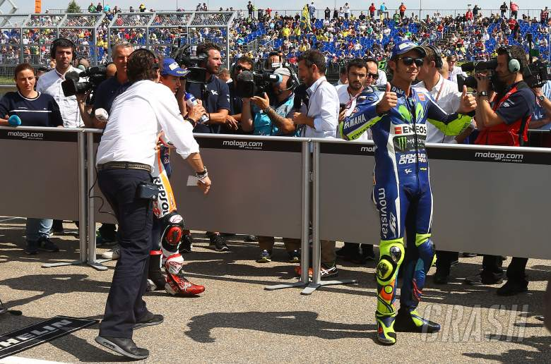 'Lucky' Rossi wary of temperature drop