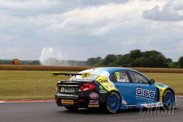 Jackson, Welch at odds over race two clash