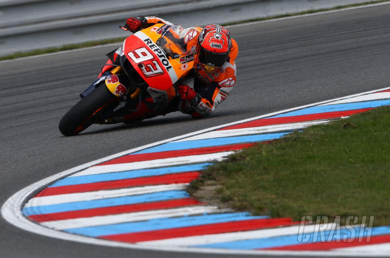 67 degrees and rising! Marquez's Brno save