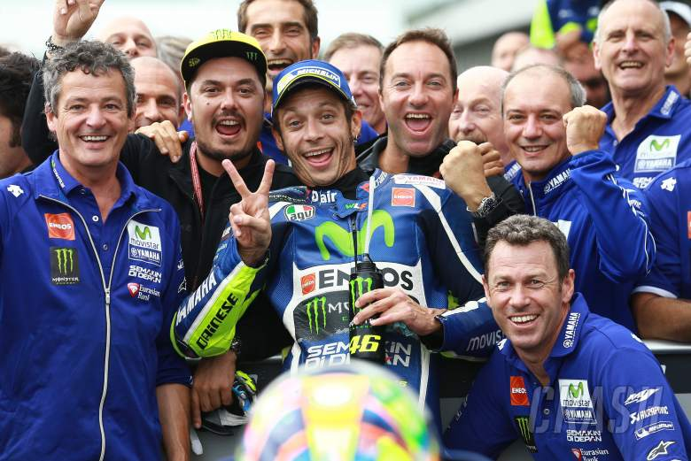 Rossi: I wasn't brave enough like Cal!