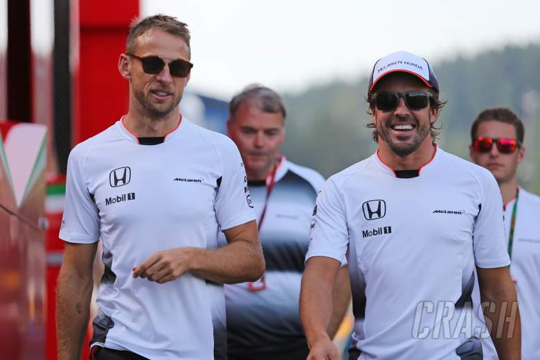 VIDEO: Button wishes Alonso luck for Indy 500