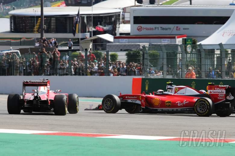 Vettel apologises to Raikkonen for Spa T1 bungle