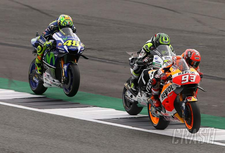 Crutchlow: Marc hit me at 200mph, Vale's fork hit my head!