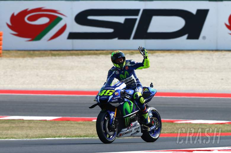 Rossi: With Aleix, it's not the first time...
