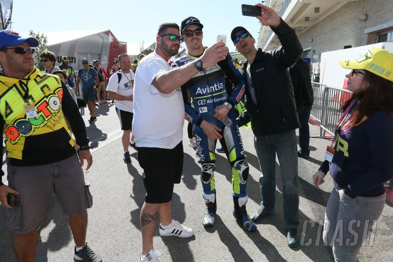 US MotoGP,  - Baz with fans,MotoGP, Grand Prix of the Americas, 2017.