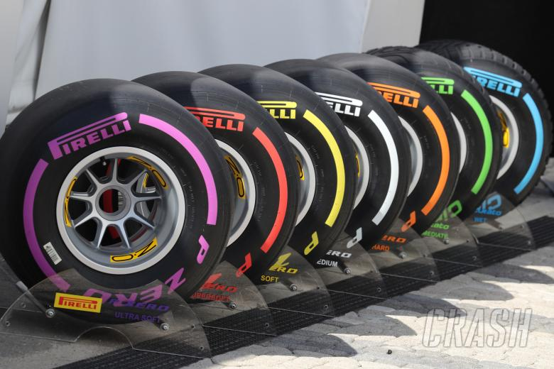 F1, 29.04.2017 - Qualifying, Pirelli Tyres