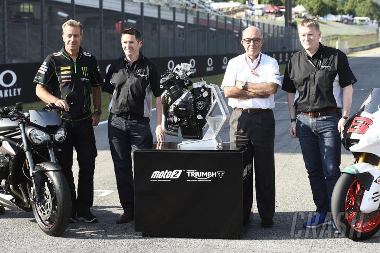 Triumph Moto2 engine supplier for 2019, Poncharal, Steve Sergent, Ezpeleta, Stroud, Italian Moto2 20