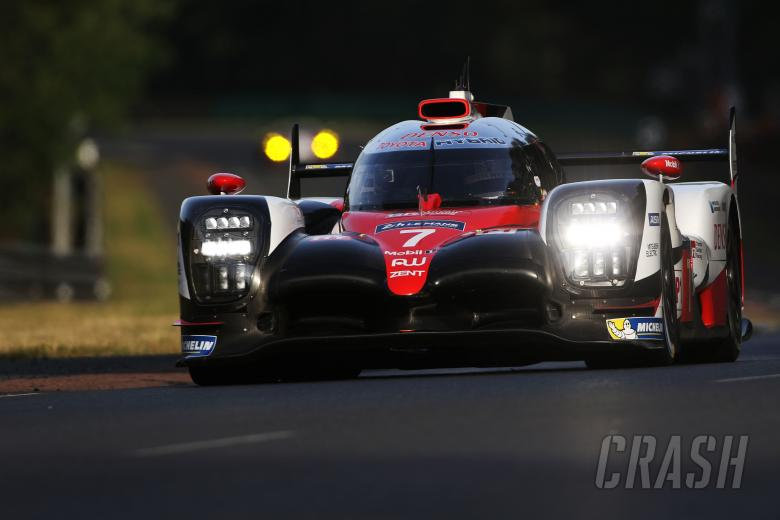 Le Mans: #7 Toyota Gazoo Racing Toyota TS050-Hybrid: Mike Conway, Kamui Kobayashi, Stephane Sarrazin
